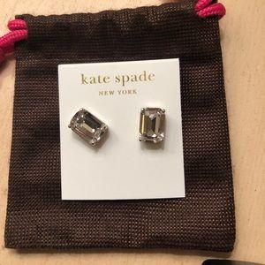 kate spade Jewelry - Kate Spade rhinestone earrings